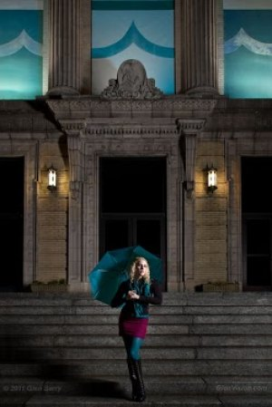Huntington City Hall. Model: Selina
